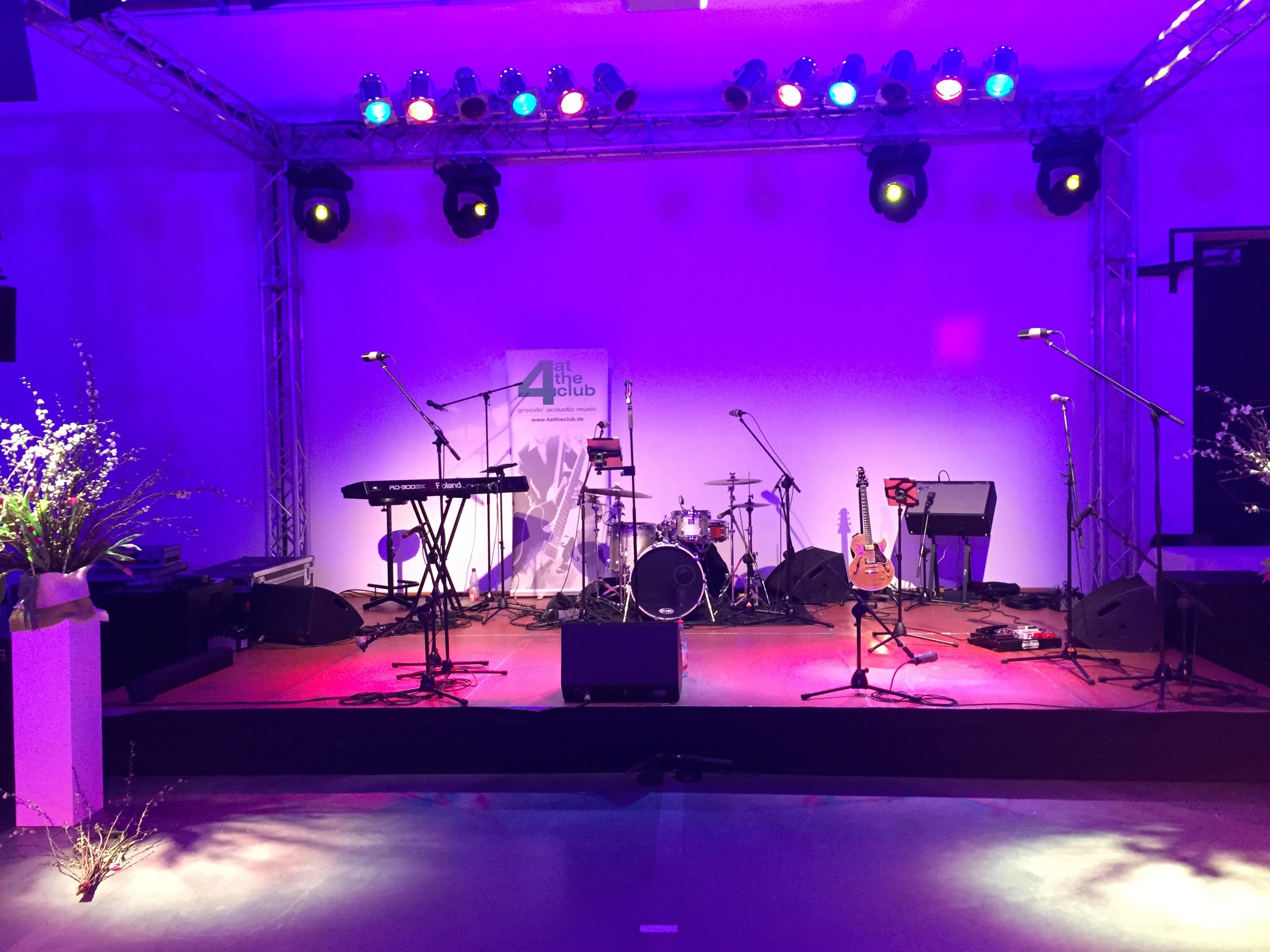 Die Liveband in Chemnitz